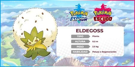 Pokémon Espada y Escudo - Eldegoss