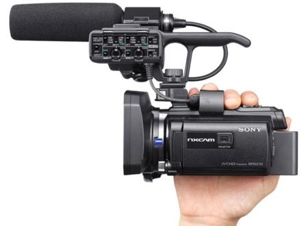 La Sony HXR-NX30E mete el proyector en la gama profesional