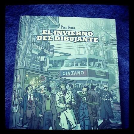 El invierno del dibujante es un cómic para conocer cómo era la Editorial Bruguera de los 50 en España