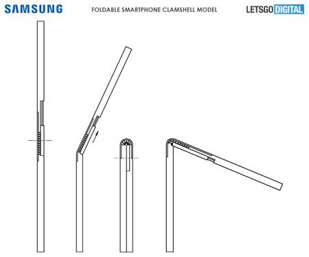 Smartphone Plegable Samsung Modelo Concha