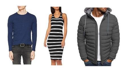 Chollos en tallas sueltas de pantalones, camisetas y abrigos de marcas como Levi's, Superdry o Lee en Amazon por 30 euros o menos
