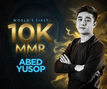 Abed, el primer jugador del mundo en alcanzar los 10K de MMR en Dota 2