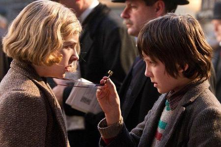 Asa Butterfield y Chloe Grace Moretz, los niños protagonistas.