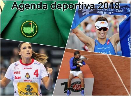 Agenda deportiva para el año 2018: los acontecimientos que no debes perderte