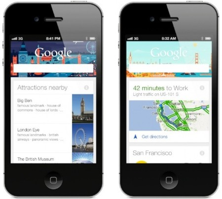 google now iphone ios apple