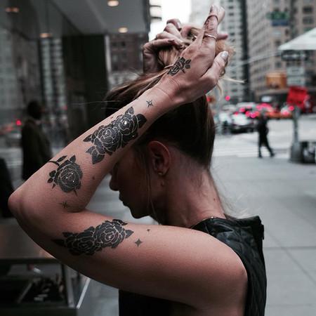 Amkiri Primer Perfume Visual Del Mundo Tatuaje Con Fragancia