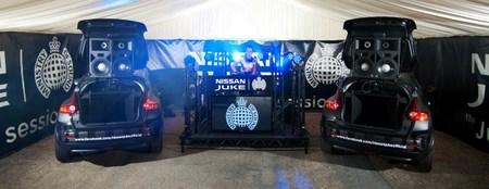 Nissan Juke Box, el mejor sistema de sonido móvil del mundo