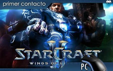 'StarCraft II: Wings of Liberty'. Primer contacto