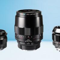 Voigtländer Macro Apo-Lanthar 110mm f2.5, Color-Skopar 21mm f3.5 y Nokton 50mm f1.2, nuevas ópticas para monturas Sony E y Leica M
