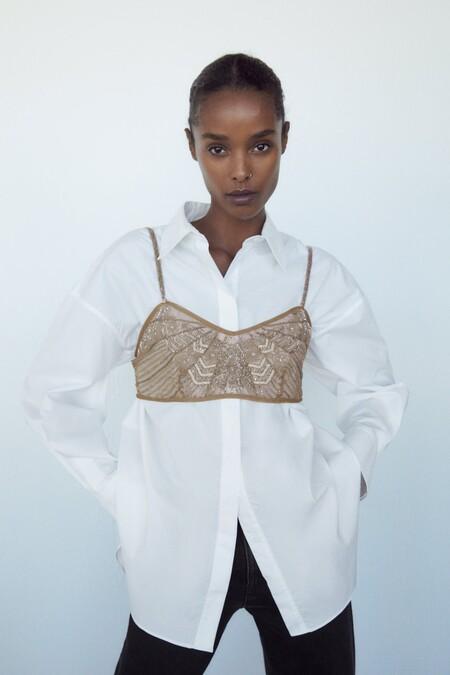 Satinadas, con lentejuelas o a modo cropped top: las prendas en edición limitada de Zara despertarán el deseo de muchas