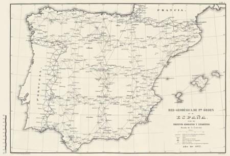 Red Geodesica Espana En 1877