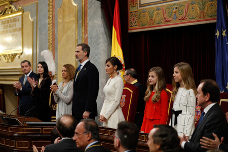 letizia look legislatura congreso