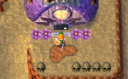 Así es Dark World en 'The Legend of Zelda: A Link Between Worlds'