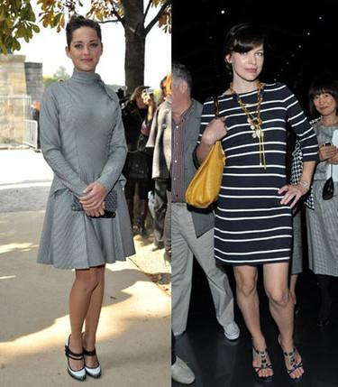 El front-row del desfile de Christian Dior