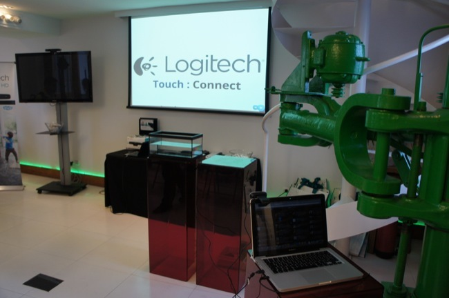 Logitech Touch Connect hoy en Madrid