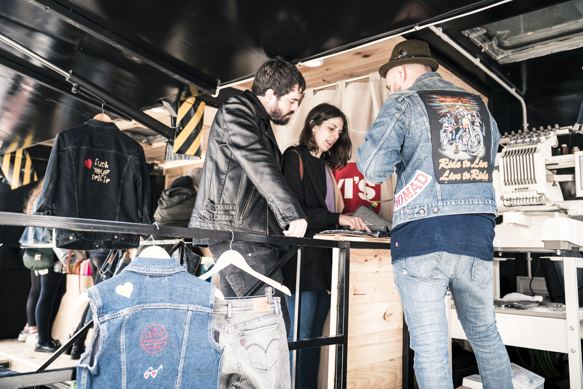 Foto de Levi's Tailor Shop on Tour (5/7)