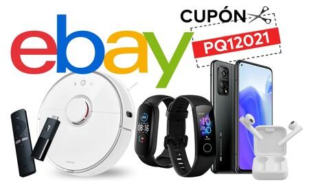 Smartphones, robots de limpieza, streamers, auriculares, pulseras deportivas... Estos dispositivos te salen más baratos en eBay gracias al cupón PQ12021