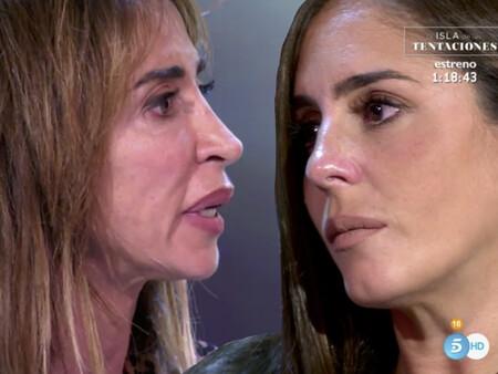 Cara a cara: Anabel Pantoja termina llorando tras las sinceras disculpas de María Patiño, muy arrepentida de sus descalificativos hacia ella