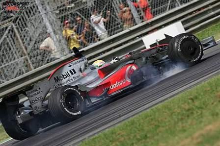 Lewis Hamilton cierra los entrenos en Monza con el mejor tiempo