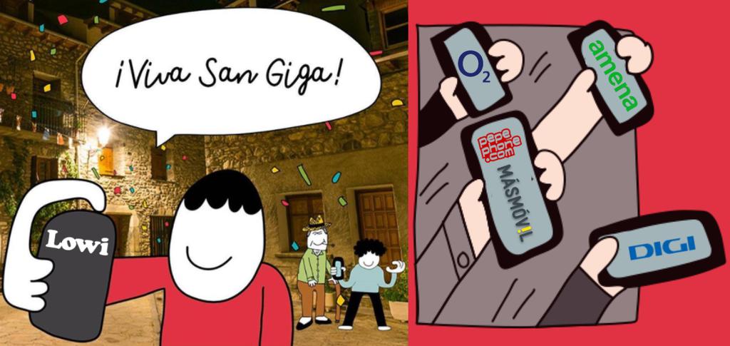 Comparamos las nuevas tarifas móviles de Lowi con O2, Pepephone, Digi, Amena, Simyo, República y MásMóvil