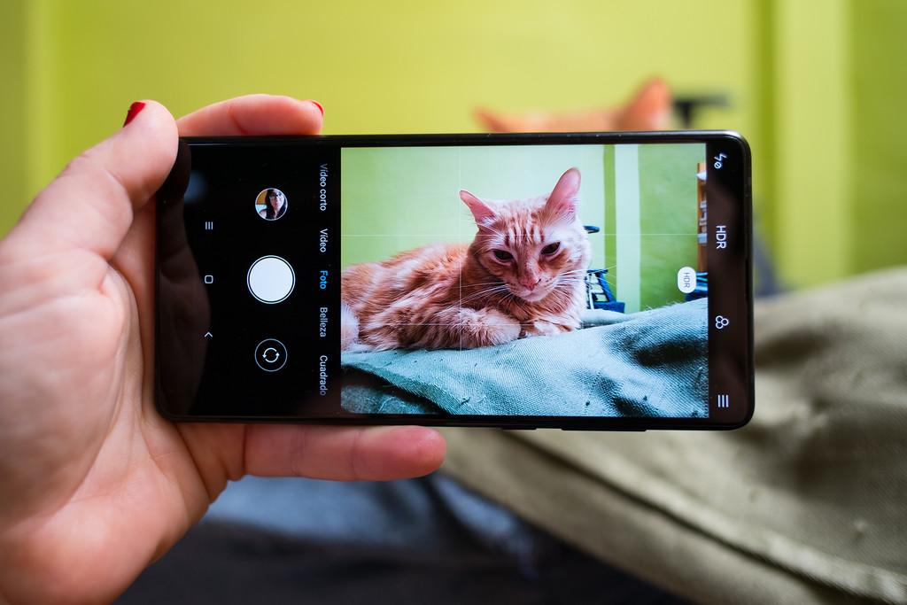 Xiaomi Mi Mix 2 Camara Interfaz