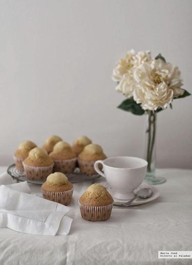 Magdalenas de mantequilla a la vainilla. La receta que revolucionará tus desayunos