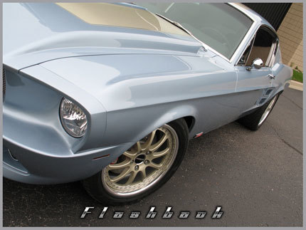 """1967 Ford Mustang """"Flashback"""" de Classic Design Concepts"""