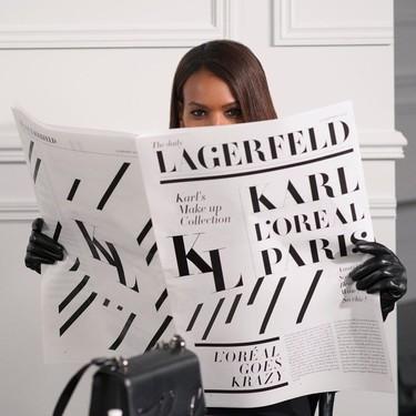 L'Oréal rinde homenaje a Karl Lagerfeld lanzando una colección de maquillaje inspirada en su concepto de belleza