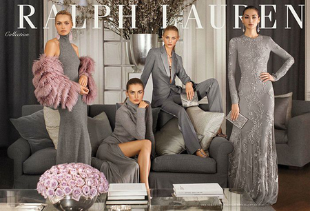 Primeros visuales de la Ralph Lauren Collection, todo un concentrado de estilo y de glamour