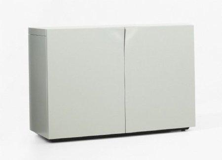 Muebles de almacenaje sin tiradores
