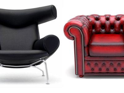 Las 17 mejores sillas de cuero de la historia