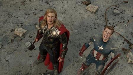 Thor y el Capitán América en