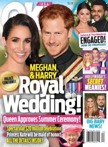 Luego están los que nos casan a Harry a la de YA