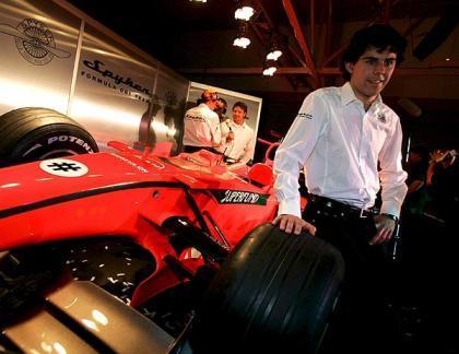 Adrián Vallés vuelve a la GP2 con el equipo de Fisichella