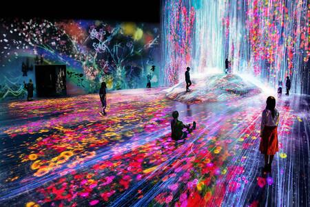 El Museo Mori de Arte Digital en Tokio es una razón más para viajar cuanto antes a la ciudad nipona