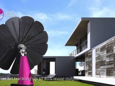 Este girasol para tu jardín atrapará más energía solar para tu casa