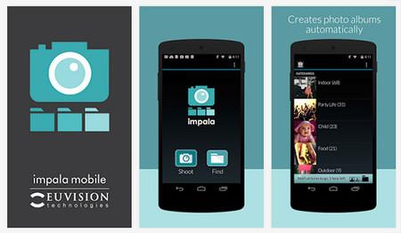 Impala, una aplicación que reconoce lo que hay en tus fotos y las organiza en categorías