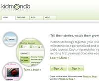 Diario online de tu bebé con Kidmondo