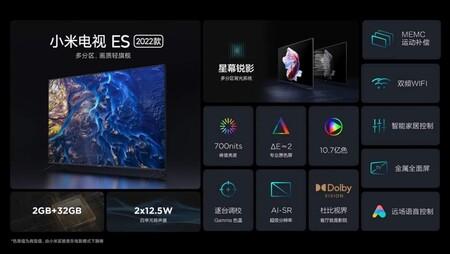 Xiaomi Mi Tv Es 2022 Specs
