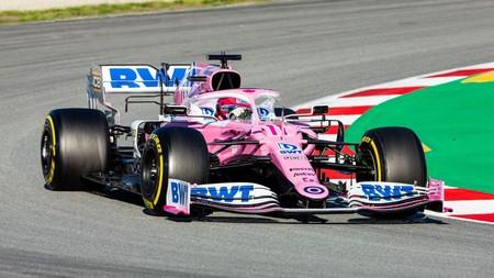 Sergio Perez Barcelona F1 2020