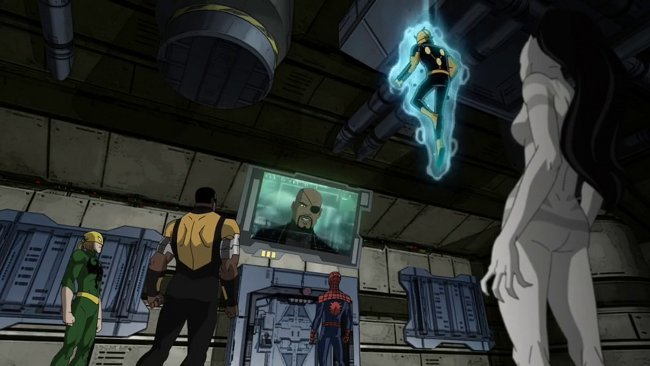 Ultimate Spiderman, Iron Fist, Power Man, Nova y White Tiger