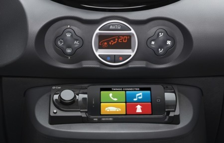 O Car iPhone Renault Twingo