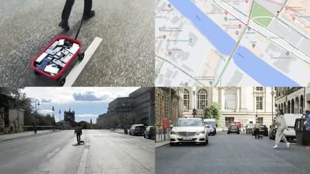 """Alguien asegura haber """"hackeado"""" a Google Maps usando sólo 99 smartphones y una carretilla para simular una calle congestionada"""