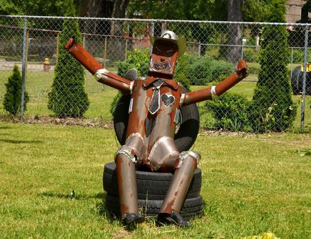 El cowboy de chatarra