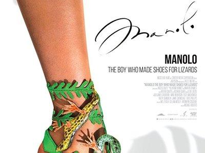 Hoy se estrena el gran biopic sobre la vida (y obra) de Manolo Blahnik