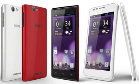 BenQ vuelve al mercado de los smartphones con dos modelos basados en Android