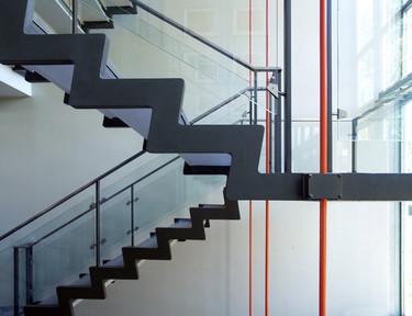 La belleza de una escalera bien hecha