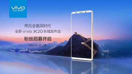 Vivo X20: esto es todo lo que sabemos del futuro móvil chino sin marcos