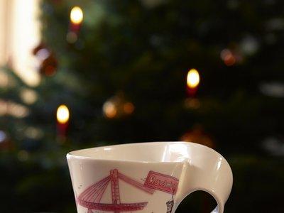 Rovaniemi inspira la nueva edición de la serie NewWave Caffè de Villeroy & Boch para Navidad