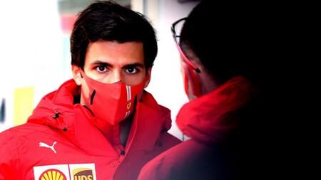 Sainz Fiorano F1 2021